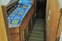 lit 1 personne en hauteur